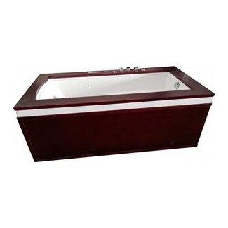SDI Factory Direct Ingle Person Hydrotherapy Whirlpool Bathtub Spa Massage Therapy Hot Bath Tub w/Heater, Bluetooth, Remote - SYM0501A