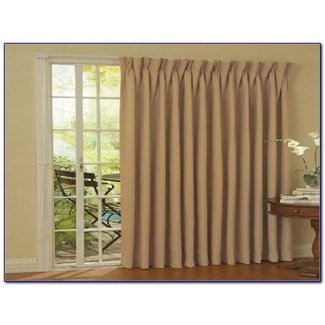50+ Sliding Glass Door Curtains You\'ll Love in 2020 - Visual ...