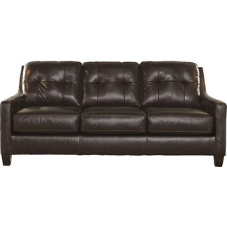 Stouffer Leather Sleeper Sofa