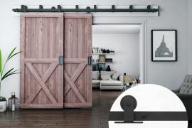 Double Barn Door Hardware