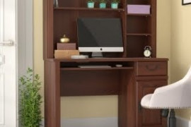 Computer Desk with Shelves