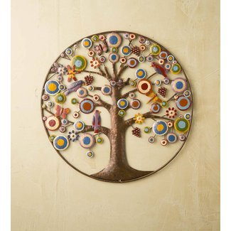 50 Tree Of Life Metal Wall Art You Ll Love In 2020 Visual