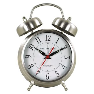 Twin Bell Tabletop Clock