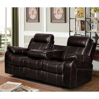 Strange 50 Reclining Sofa With Drop Down Table Youll Love In 2020 Dailytribune Chair Design For Home Dailytribuneorg
