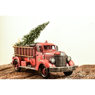 Fire Truck Inflatable Christmas Decorations  from visualhunt.com