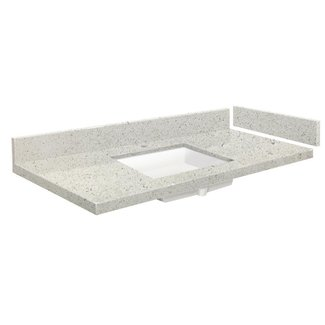 43 Inch Vanity Top With Sink You Ll Love In 2021 Visualhunt