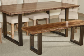 Farmhouse Table With Bench
