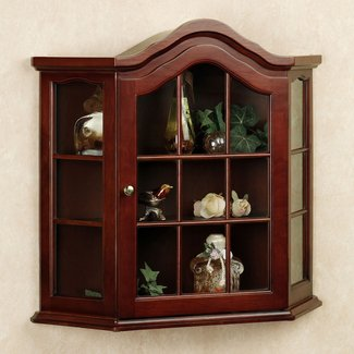 50 Wall Mounted Curio Cabinet You Ll