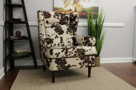 Cow Hide Accent Chairs