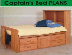 50 Queen Size Captains Bed You Ll Love