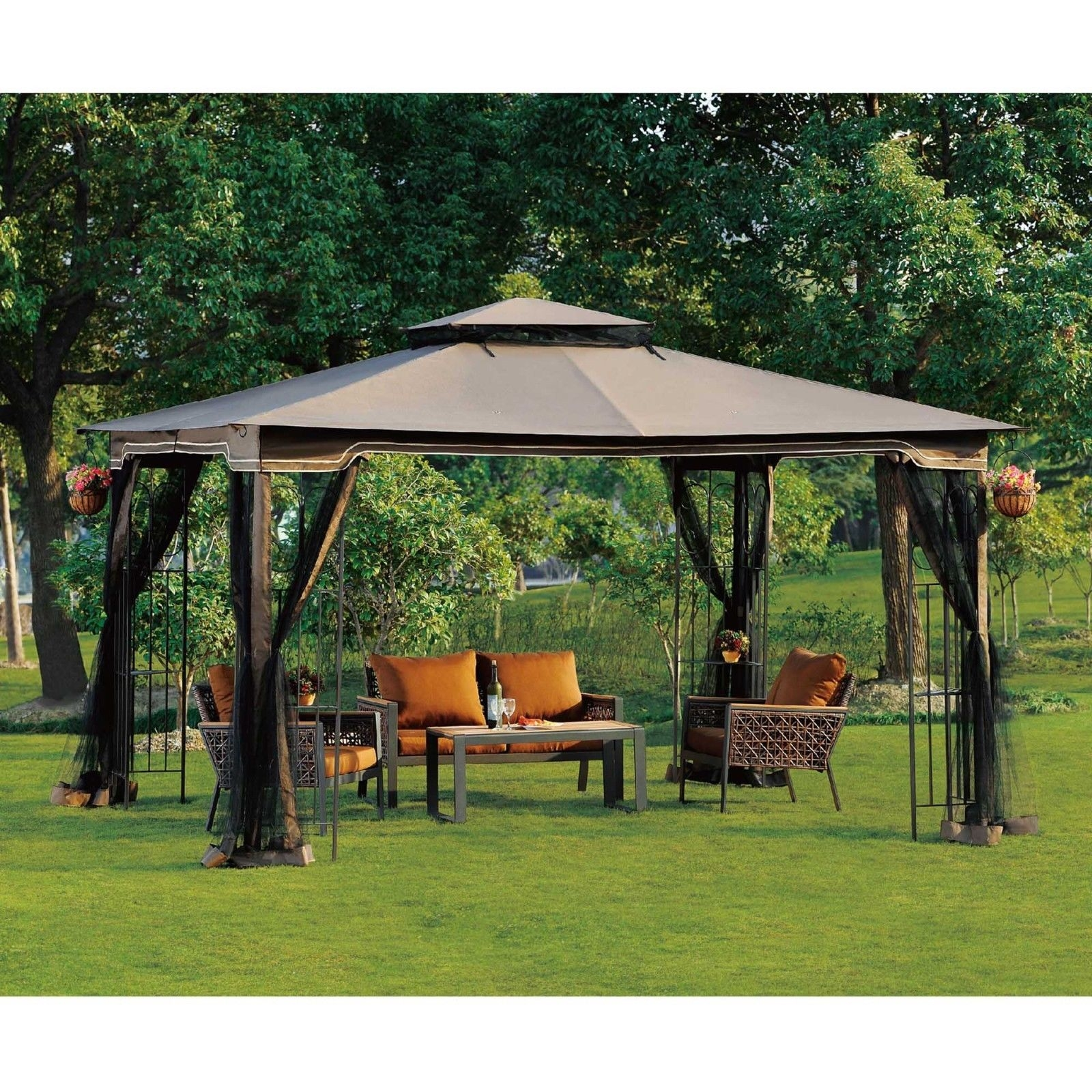 Gazebo with Mosquito Netting You'll Love in 2021 - VisualHunt