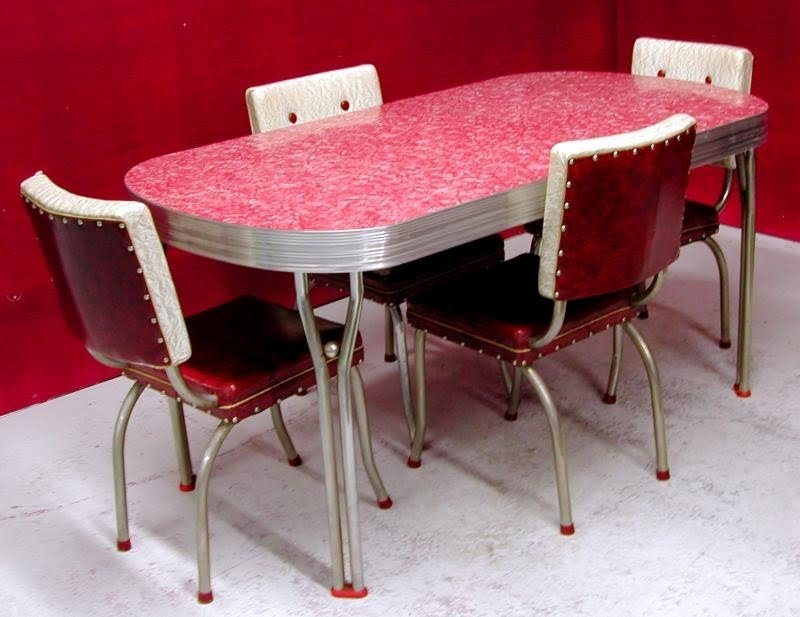 Retro Kitchen Table And Chairs You Ll, 50s Dining Room Table