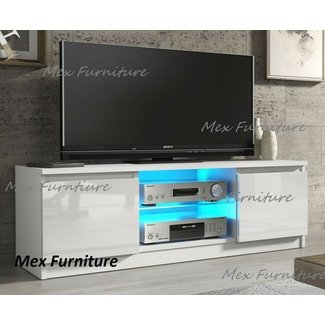 50 White High Gloss Tv Stand You Ll Love In 2020 Visual Hunt