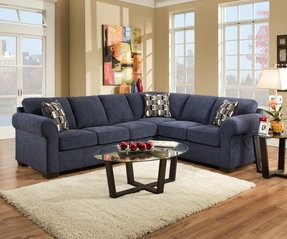 50+ Navy Blue Sectional Couch You\'ll Love in 2020 - Visual Hunt