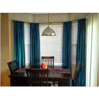 50 Curtains For Bay Windows In Dining Room You Ll Love In