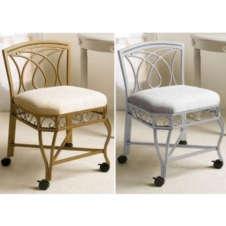 Super 50 Vanity Chair With Wheels Youll Love In 2020 Visual Hunt Caraccident5 Cool Chair Designs And Ideas Caraccident5Info