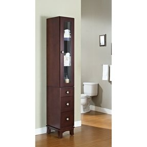 50 12 Inch Wide Linen Cabinet You Ll
