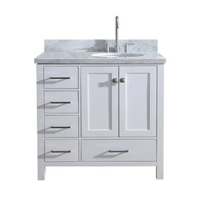50 Right Offset Bathroom Vanity You Ll
