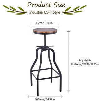 Excellent 50 Vintage Industrial Bar Stool Youll Love In 2020 Pabps2019 Chair Design Images Pabps2019Com