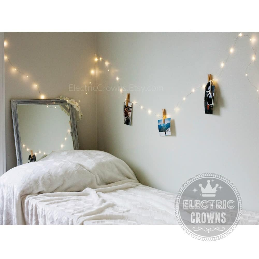 50 String Lights For Bedroom You Ll Love In 2020 Visual Hunt