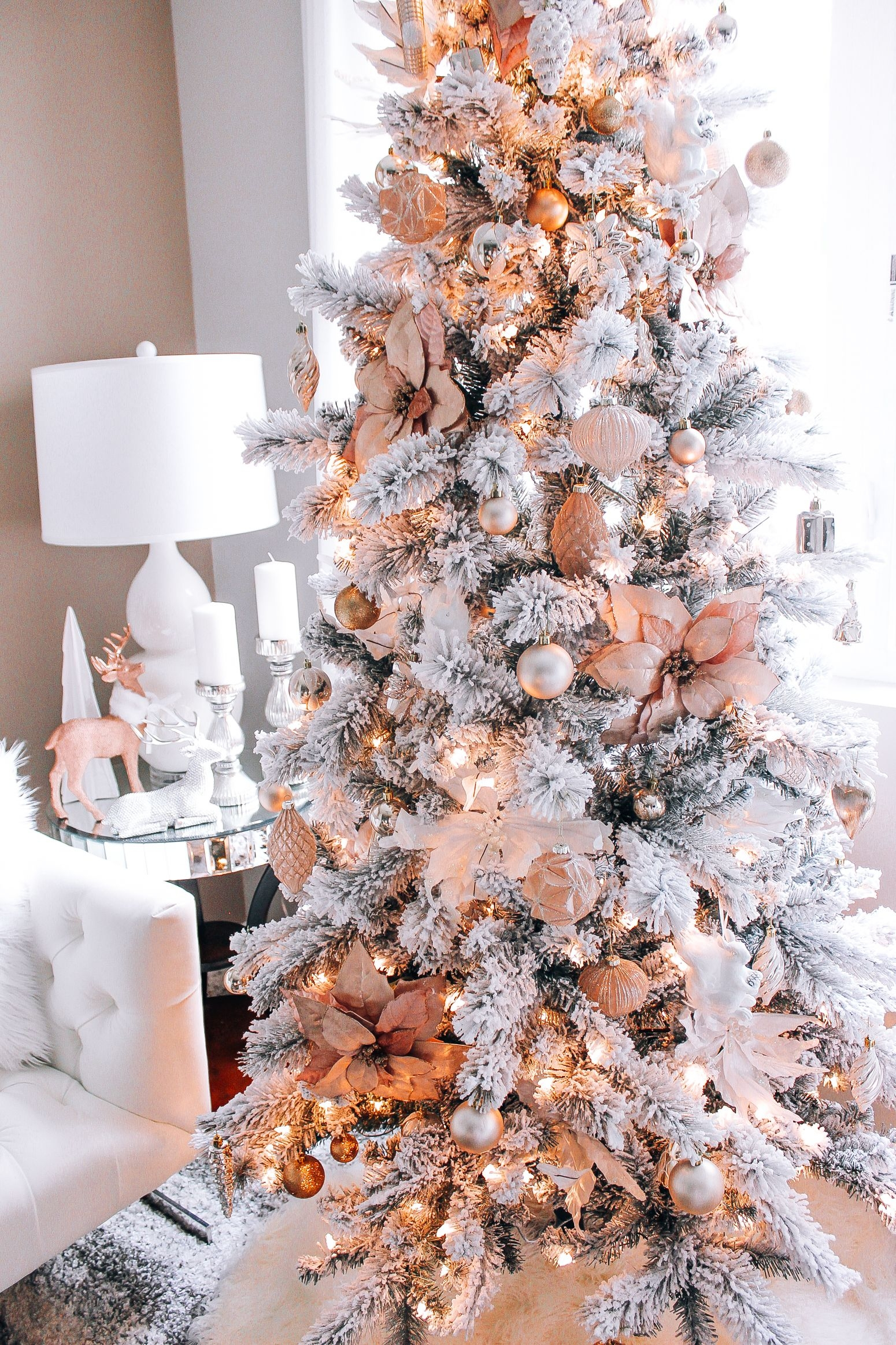 Rose Gold Christmas Ornaments You Ll Love In 2020 Visualhunt