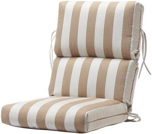 highback outdoor chair cushion you ll
