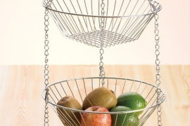 3 Tiered Wire Basket
