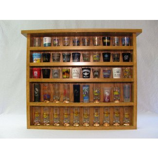 Shot Glass Display Case You Ll Love In