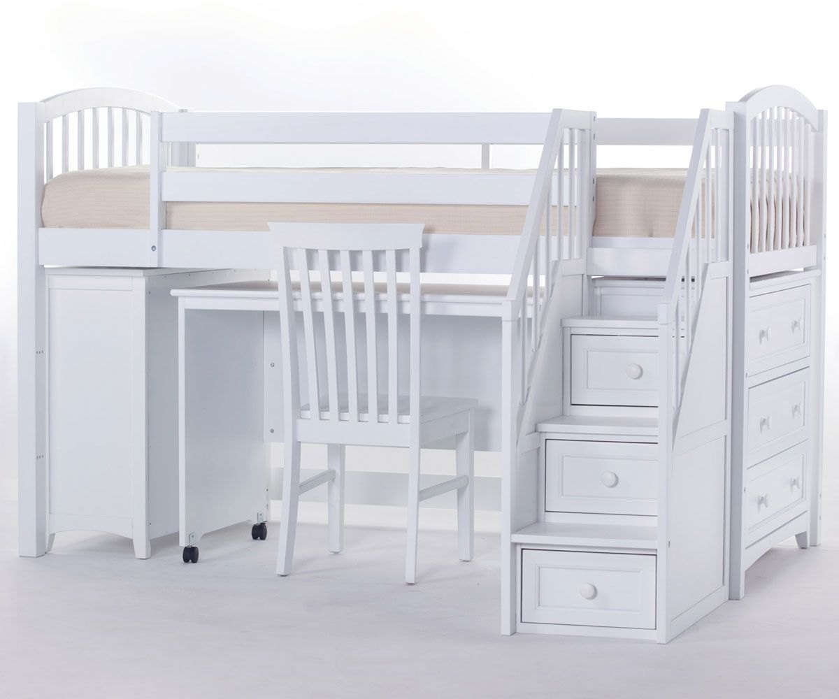 Picture of: Low Bunk Bed With Stairs You Ll Love In 2020 Visualhunt