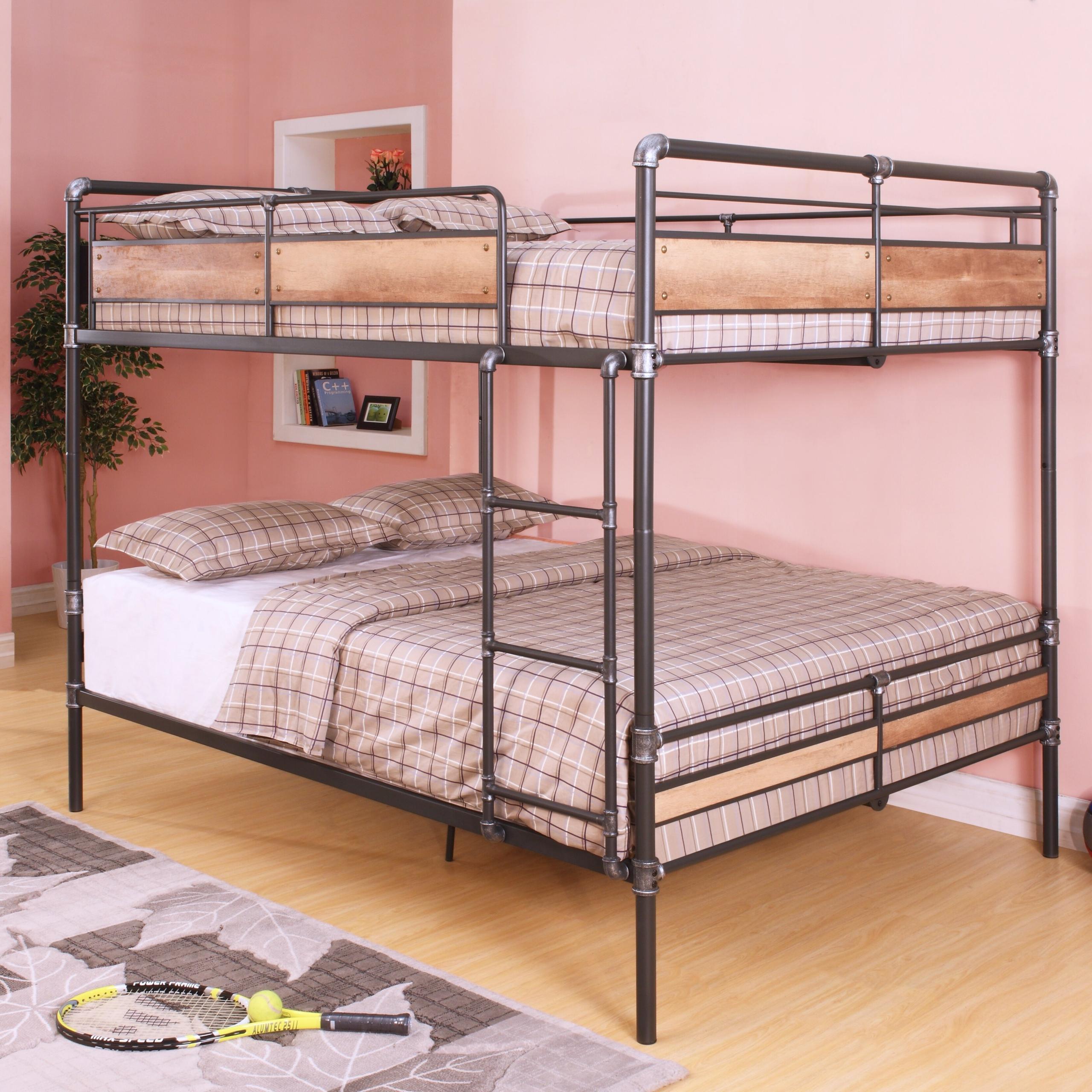 Heavy Duty Bunk Beds You Ll Love In, Queen Over Loft Bed