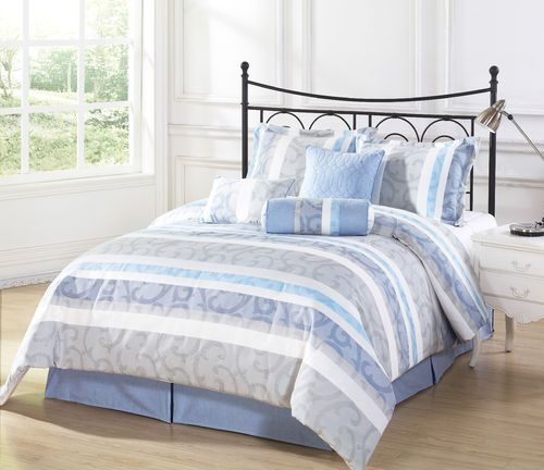 Light Blue Comforter Set You Ll Love In 2021 Visualhunt