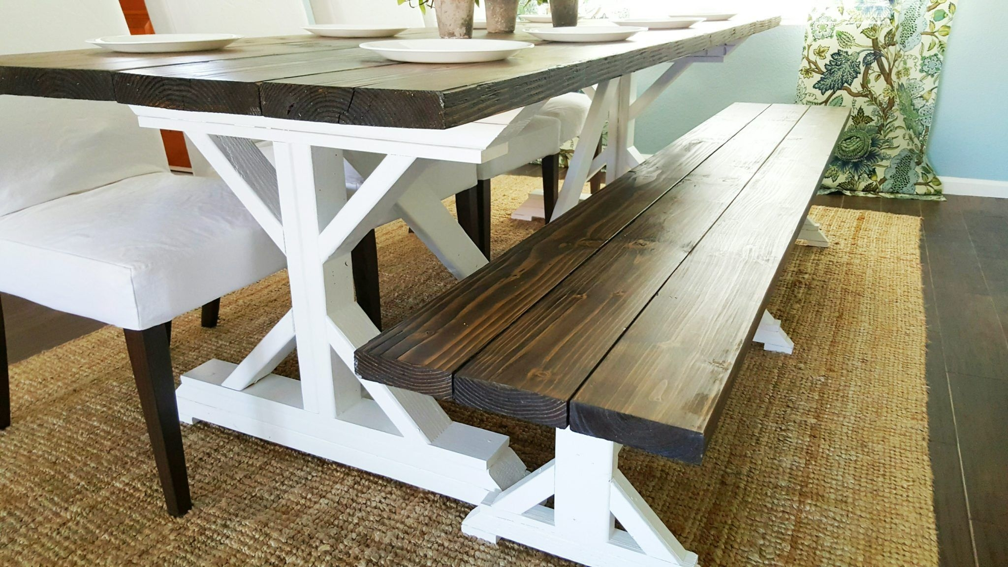 Farmhouse Table With Bench You Ll Love In 2020 Visualhunt