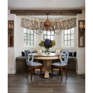 50 Curtains For Bay Windows In Dining Room You Ll Love