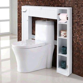 50 Bathroom Shelves Over Toilet Youll Love In 2020