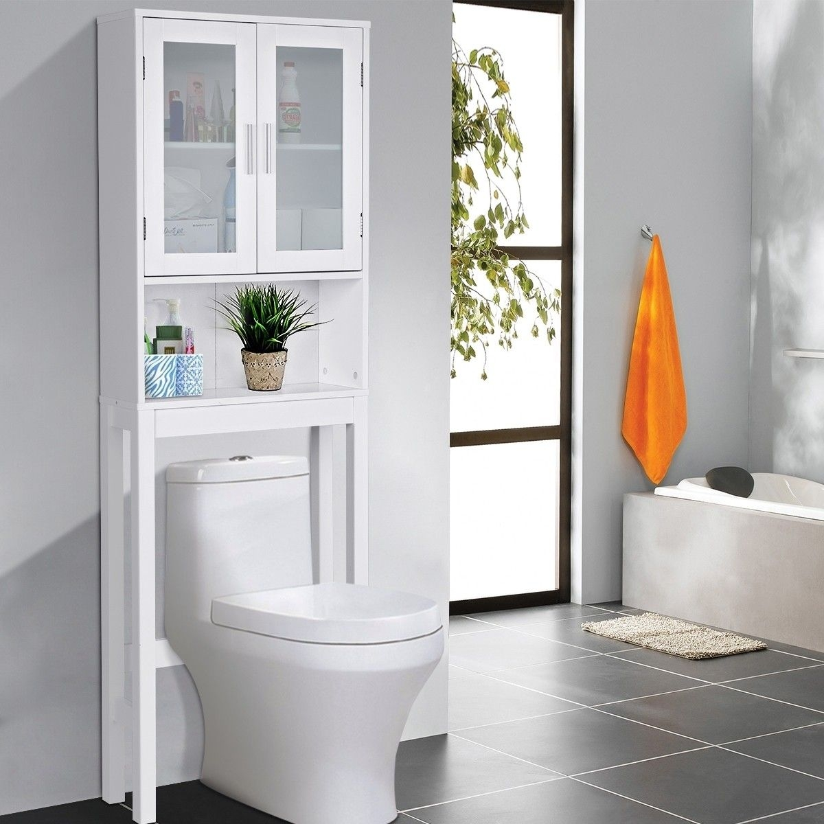 Bathroom Shelves Over Toilet You Ll Love In 2021 Visualhunt