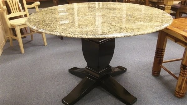 Granite Top Dining Table You Ll Love In, 48 Round Marble Table Top