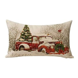 50 Red Truck With Christmas Tree You Ll Love In 2020 Visual Hunt