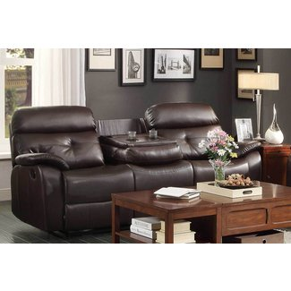 Pleasing 50 Reclining Sofa With Fold Down Console Youll Love In Pdpeps Interior Chair Design Pdpepsorg