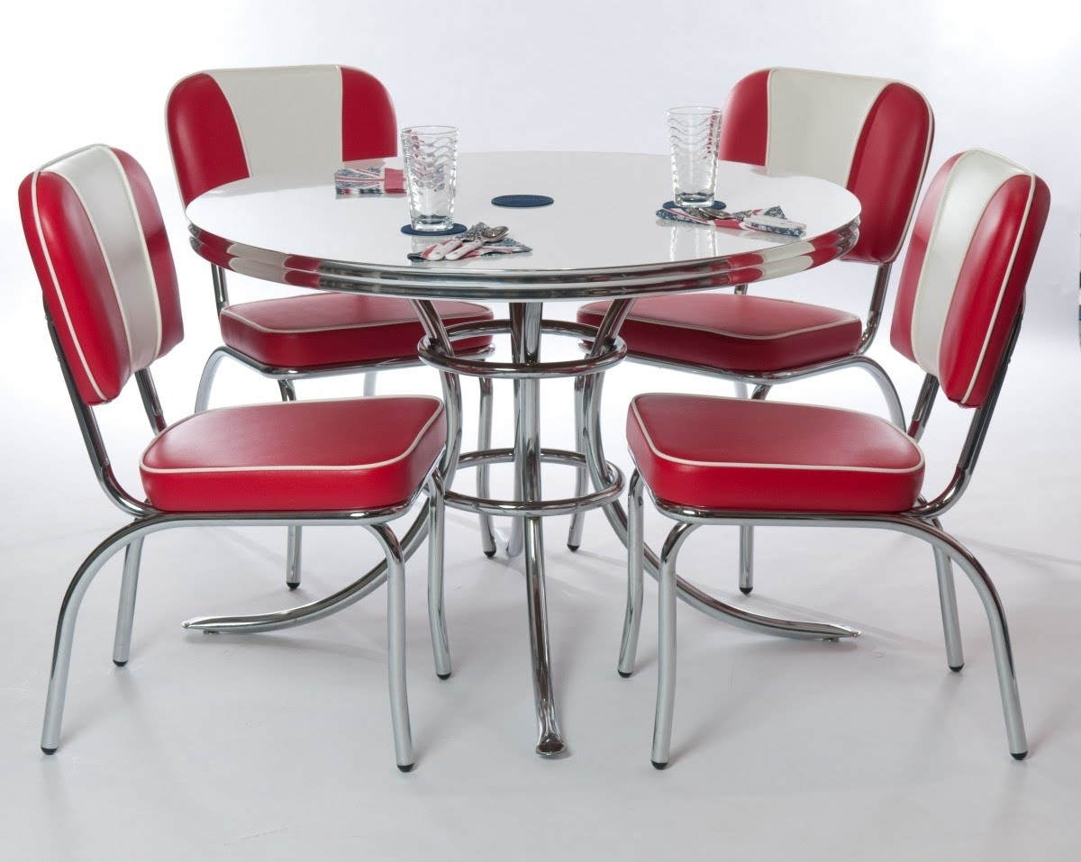 Retro Kitchen Table And Chairs Visualhunt, Retro Dining Room Sets