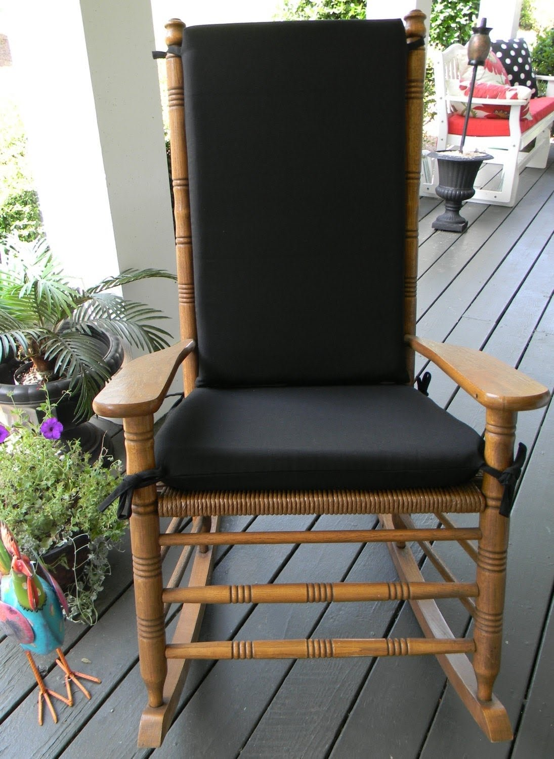 Outdoor Rocking Chair Cushions You Ll, Outdoor Furniture Rocking Chair Cushions