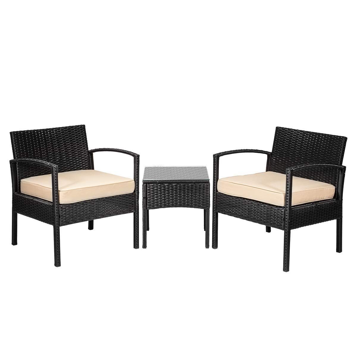 3 Piece Wicker Patio Set You Ll Love In 2021 Visualhunt