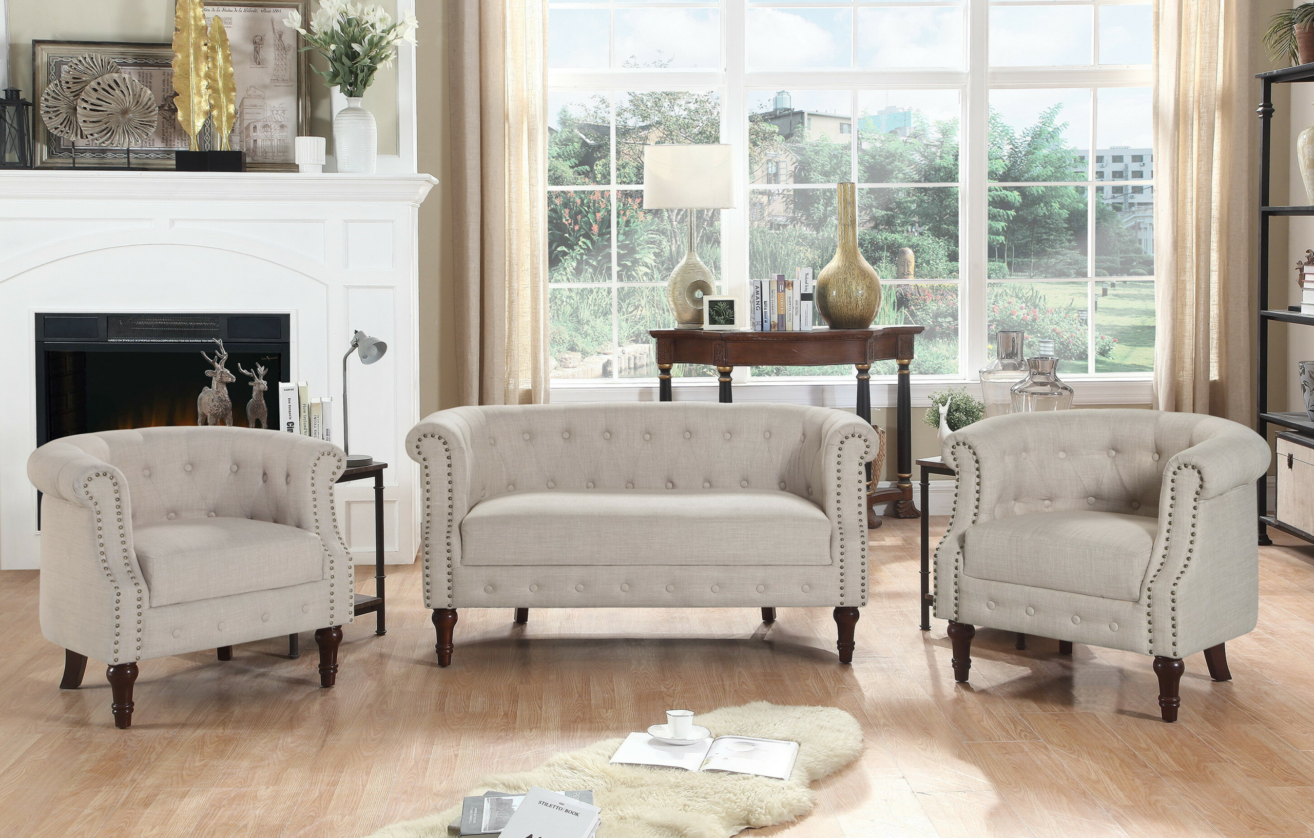 3 Piece Living Room Set You Ll Love In, 3 Piece Living Room Sets