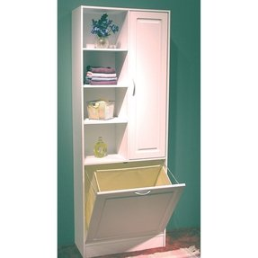 50 Linen Cabinet With Hamper You Ll