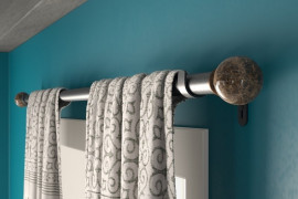 Heavy Duty Curtain Rods