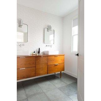 50 Mid Century Modern Bathroom Vanity You Ll Love In 2020 Visual Hunt