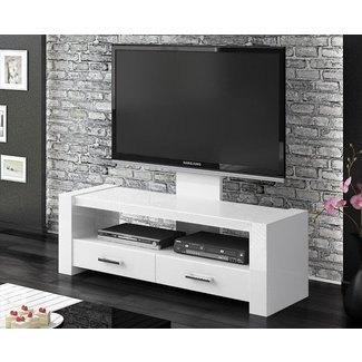 White High Gloss Tv Stand You Ll Love In 2021 Visualhunt