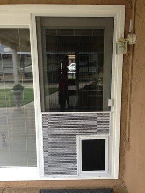 Door With Dog Door You Ll Love In 2020 Visualhunt