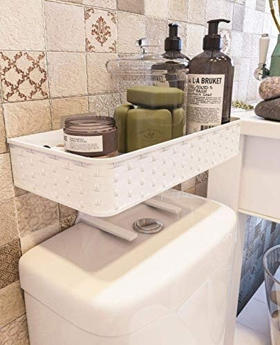 Bathroom Shelves Over Toilet You Ll, Above Toilet Cabinet With Towel Bar