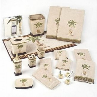 50 Palm Tree Bath Set You Ll Love In 2020 Visual Hunt