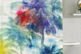 Palm Tree Bath Set